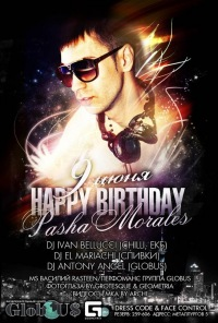 Happy Birthday Dj Pasha Morales