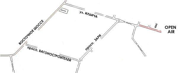карта проезда на Ису