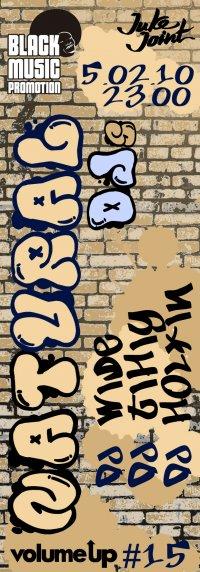 5 февраля VOLUME UP#15: NatUral DJs!!!