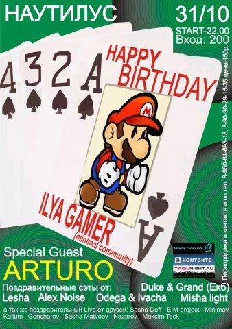 Happy Birthday Ilya Gamer