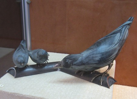 каменные птицы