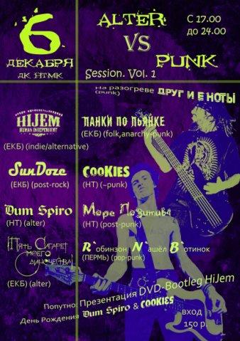 Alter Vs Punk Session. Vol. 1