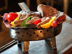 блюдо мясного ресторана